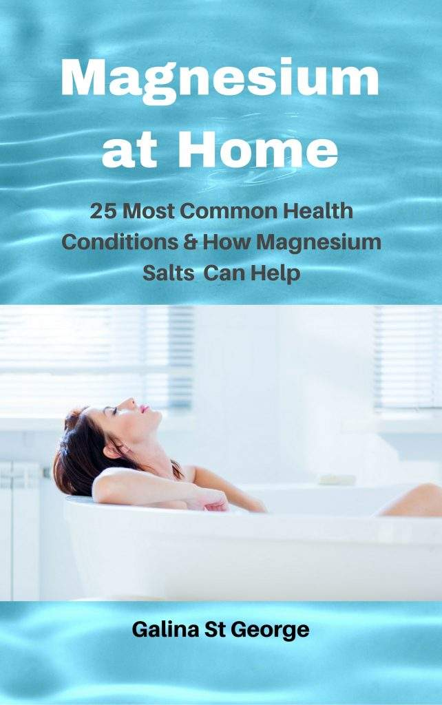 Magnesium at Home - 25 Most Common Health Conditions & How Magnesium Salts Can Help