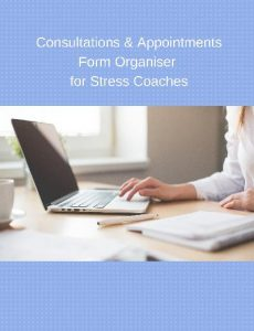 Consultations & Appointments Form Organiser for Stress Coaches