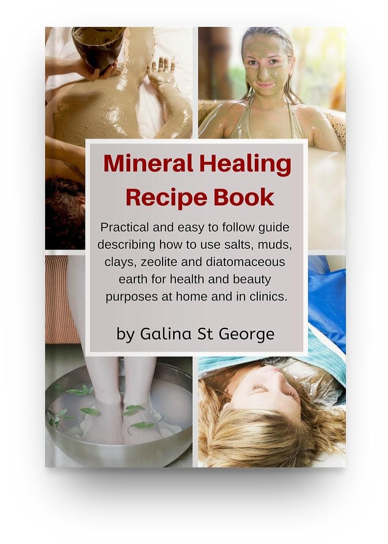 Mineral Healing Recipe Book Cover